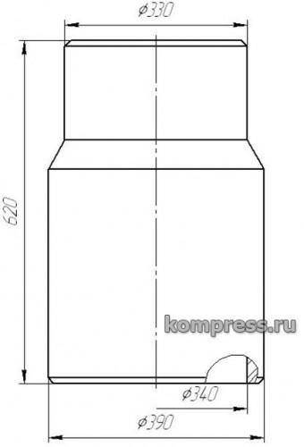 Изолятор (покрышка) опорный проходной фарфоровый