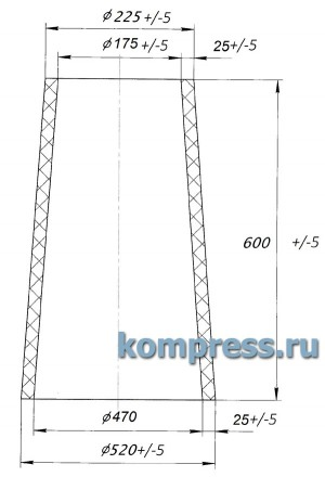 Опорно-проходной изолятор V4545869